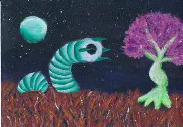 Alien Life by laughingwithyou