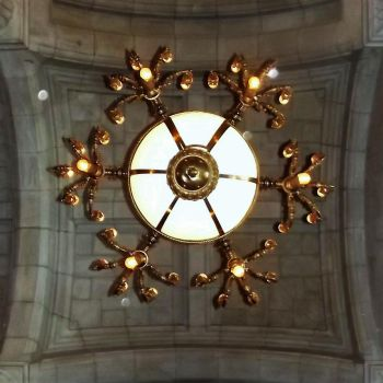 Chandelier of Albany State Building by Seriridescence