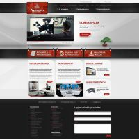 Kensai web design by VictoryDesign