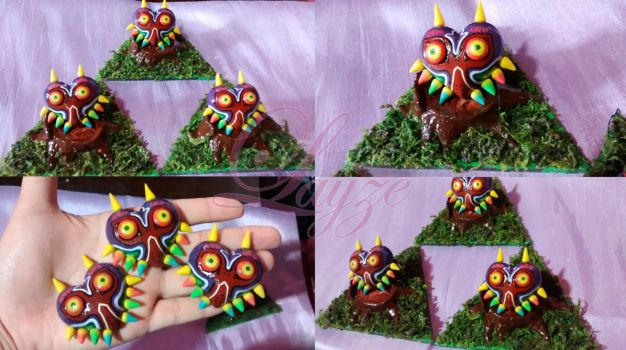 Majora's Mask miniature by LayzeMichelle