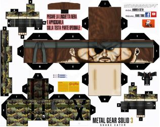 1-big Boss Mgs 3+optional-cubeecraft by ANDREAMARINO93
