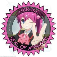 Haruka Seal of Approval by SquallEC