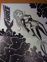 BLACK WIDOW sketchcover by renecordova