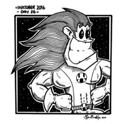 Inktober 2016 - Day 26 by Mr-Brinks