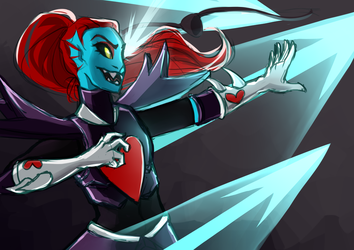 undyne the undying by rismet