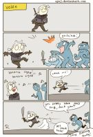The Witcher 3, doodles 330 by Ayej