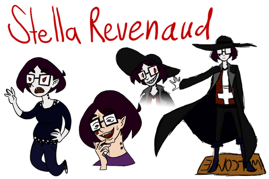 Character Sheet: Stella Revenaud by WitchyStella