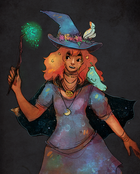180125 - Witchsona by Ainaredien