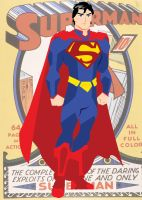 Superman Vector by huatist
