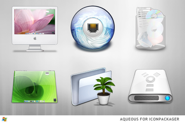Aqueous For IconPackager by ipholio