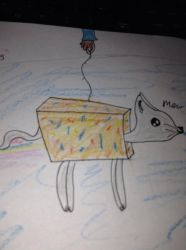 Nayan cat drawing by sapphirewolves123