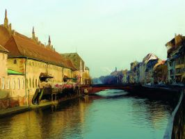Strasbourg Canal by rusrick