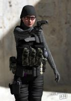 Tactical Lali 1 by erogenesisCGI
