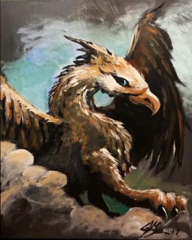 Griffon by Jaymooers