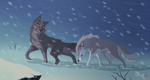 Snow storm by hecatehell