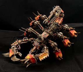 Greater Brass Scorpion of Khorne (Conversion) by Minisnatcher