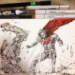 Man of Steel by SantaFung