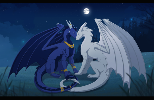 In The Moonlight by DraconicXeno515