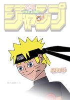 Naruto Shonen Jump Fan Art Cover (Jap  type) by joey2132132