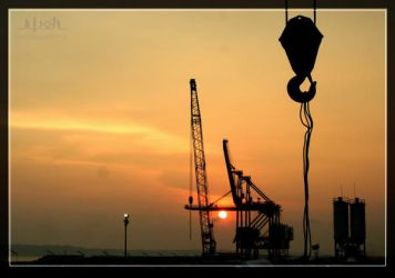 Jetty of Cilacap Powerplant by iwoth