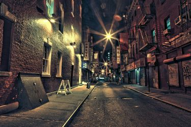 Chinatown in HDR by ThousandLakes