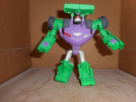 TRANSFORMERS ANIMATED G1 SCRAPPER by GRIMLOCKPRIME108