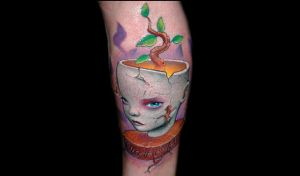 Organic values by redliontattoo