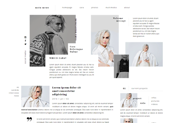 CU WordPress Theme #02 {PREMIUM} by BrielleFantasy