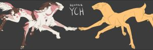 Run to the Hills Renfair YCH by crushedskulls