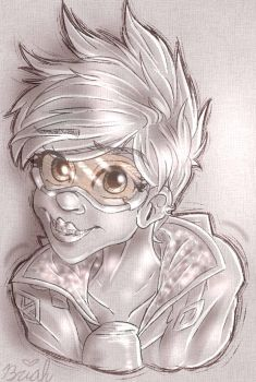 Tracer Bust by BellamyRocks