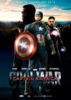Captain America - Civil War - Poster fan-made by dDsign