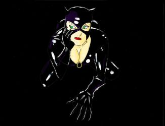 Catwoman Black by city-slipping-dues