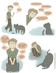 Cats Can Be Cruel.. by FindChaos