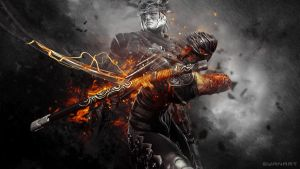 Ninja Gaiden III - Blade of the Archfiend by TheSyanArt