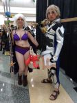 Megacon 2018 Robin and Corrin by kingofthedededes73