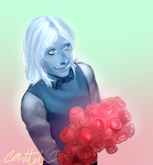 Blue Diamond: Roses by canttel