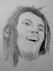 Bob Marley Poster board by dpmm07