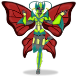 Art Trade Offer- Beautiful Butterfly by CreativeFandomMinds