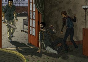 The Last of Us colors by literacysuks1