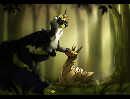 king and queen. ARP by salvarpg
