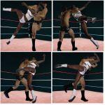 Mixed wrestling match 89 by cattle6