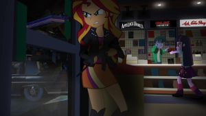 [Equestria Girls] The Heist by VBASTV