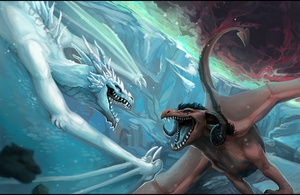 Dragon Duel by ALRadeck
