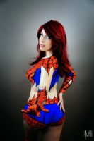 Web Shooting Mary by TenderCosplay