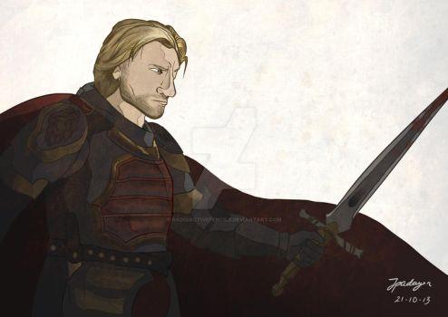 Jaime Lannister by radioactivepencils