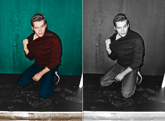 Shadowplay 611: Dylan O'Brien Colorization by simirae