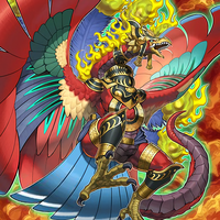 Fire King High Avatar Garunix by Freezadon