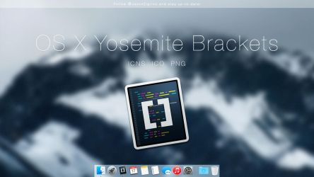 OS X Yosemite Brackets by JasonZigrino