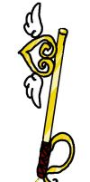 Heart of gold Keyblade by Doodlz18