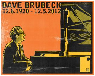 Dave Brubeck by tshasteen